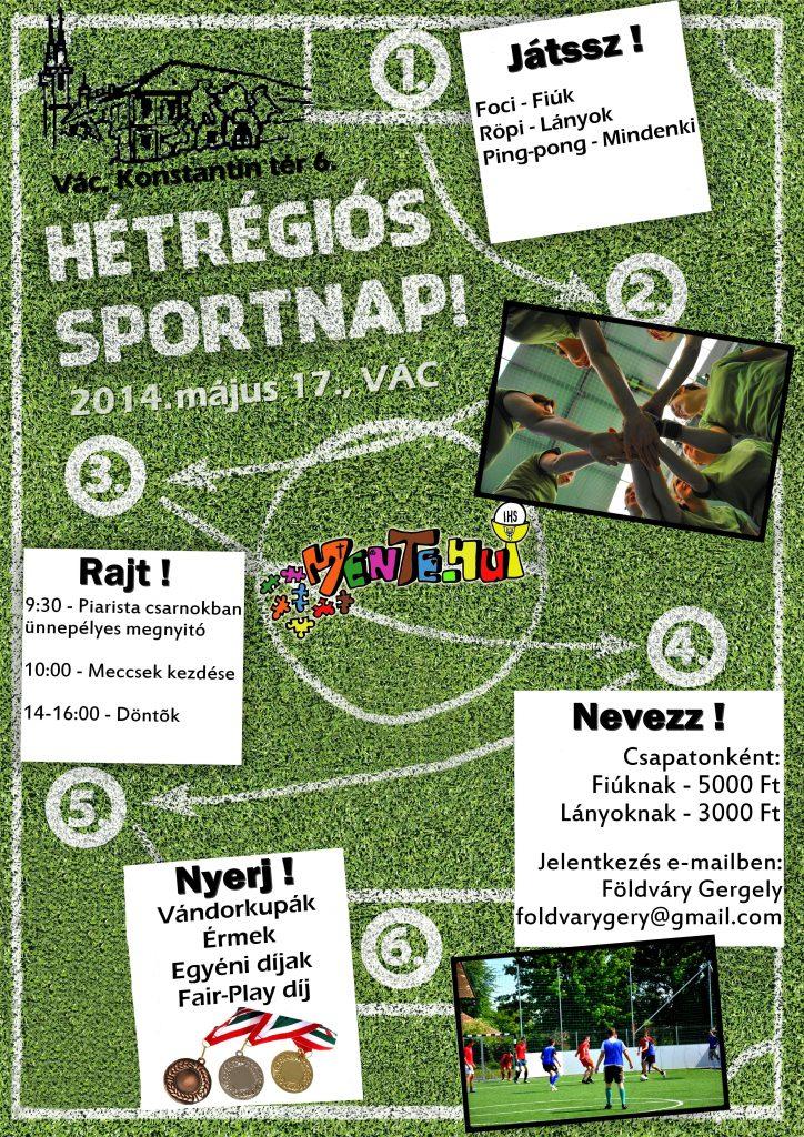 7régiósSportnap plakát 2014 nagy