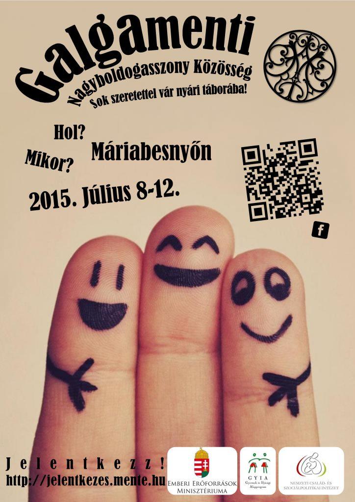 tábor plakát 2015