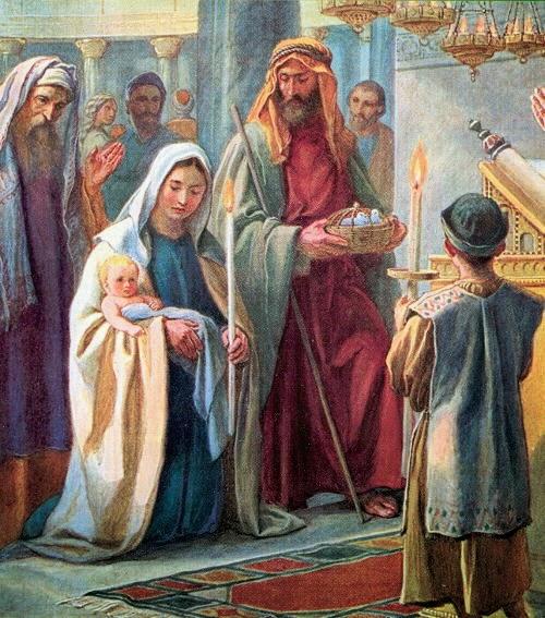 PRESENTACIÓN DE JESÚS EN EL TEMPLO - presentazione-di-gesu-al-tempio
